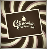 Chocolate background — Vecteur