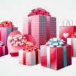 Isolated gifts — Stockvector #7329240