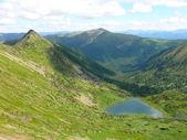 Jezioro serca — Zdjęcie stockowe