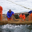 Salmon fishing - Stock Photo