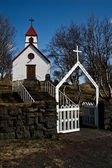 Kirche von island — Stockfoto
