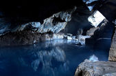 Thermal cave — Stockfoto