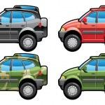 tutto strada veicolo — Vettoriale Stock  #7304879