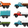 Trucks — Stockvektor #7308038