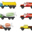 Trucks — Stock Vector