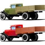 Vintage truck — Stock Vector #7308867