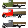 Royalty-Free Stock Vector Image: Vintage truck