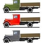 Vintage truck — Stock Vector #7308875