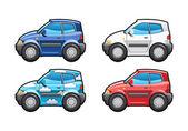 Hatchback(three door) — Vector de stock