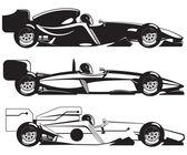 Formel 1 — Stockvektor
