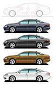 Executive car — Stock Vector