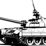 Постер, плакат: Heavy tank