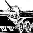 Постер, плакат: Armored troop carrier