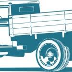 Vintage truck — Stock Vector #7313963