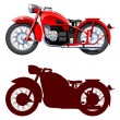 Motorcycle. — Stock Vector #7313982
