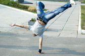 B-boying — Stock Photo