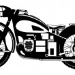 Motorcycle. — Stock Vector
