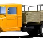 Vintage truck — Stock Vector #7493617