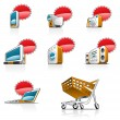 Royalty-Free Stock Vector Image: Website and Internet icons
