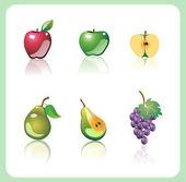 Illustration d'un fruits. — Vecteur