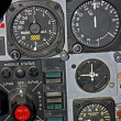 Part of Control Panel for Fighter Aircraft - Stock Photo