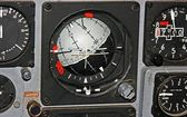 Horizon Indicator Gauge — Stock Photo