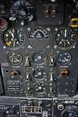 Engineers Control Panel from Canberra Aircraft — Stock Photo