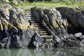 Steps in Cliff — Stock Photo