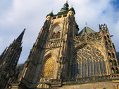 Prague, Cathedral — Stock Photo