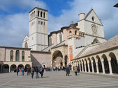 Assis, Basilica of St. Franciscan — Stock Photo