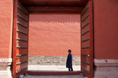 Alone in the Forbidden City, Beijing, China — Stock Photo