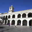 Постер, плакат: El Cabildo in Salta capital in the state Salta Northern Argentina