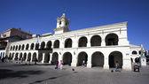 El Cabildo, in Salta capital in the state Salta, Northern Argentina — Stock Photo
