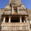 Hindu temple in old fortress of Kumbalgarh, Rajasthan, India — Stock Photo