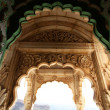 Stock Photo: Entrance door of Jaswant Thadin Jodhpur - Rajasthan