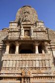 Hindu temple in old fortress of Kumbalgarh, Rajasthan, India — Stock Photo