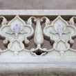 Stockfoto: Marble detail of AgrFort in Agr- India