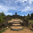 Remote temple in Angkor - Cambodia — Stock Photo