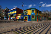 Colourful houses in La Boca in Buenos Aires - Argentina — Stock Photo