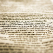 Stock Photo: One Line Of Torah
