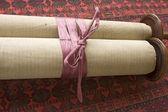 Torah Scroll With Ribbon — Stock Photo