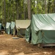 Tents At Summer Camp — Stock Photo #7352965
