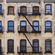 Stock Photo: New York Tenement Building