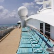 Deck Chairs On Cruise Ship — Stock Photo #7358562
