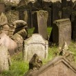 Old Prague Jewish Cemetery - Stock Photo