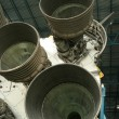 Stock Photo: Saturn V Rocket Engines