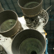 Постер, плакат: Saturn V Rocket Engines