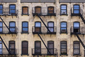 New York Tenement Building — Stock Photo