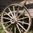 Royalty-Free Stock Photo: Antique Wagon Wheel