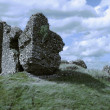 Irish Castle Ruins - Stock Photo